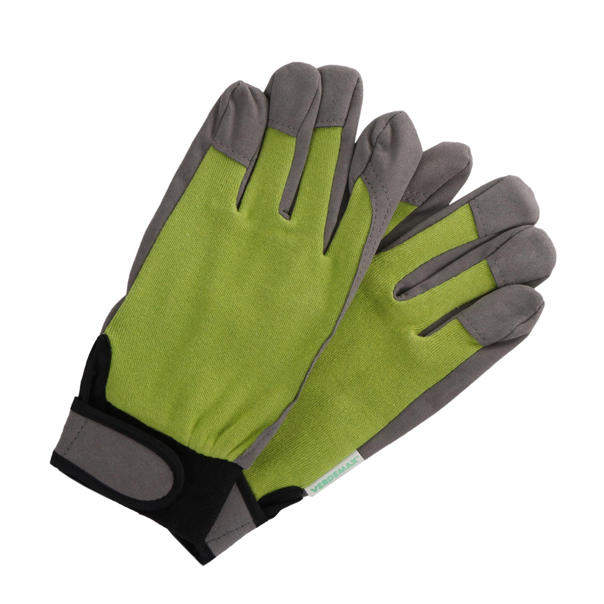 Фото - Перчатки садовые Verdemax golf серо-зеленые хl перчатки садовые verdemax серо зеленые m