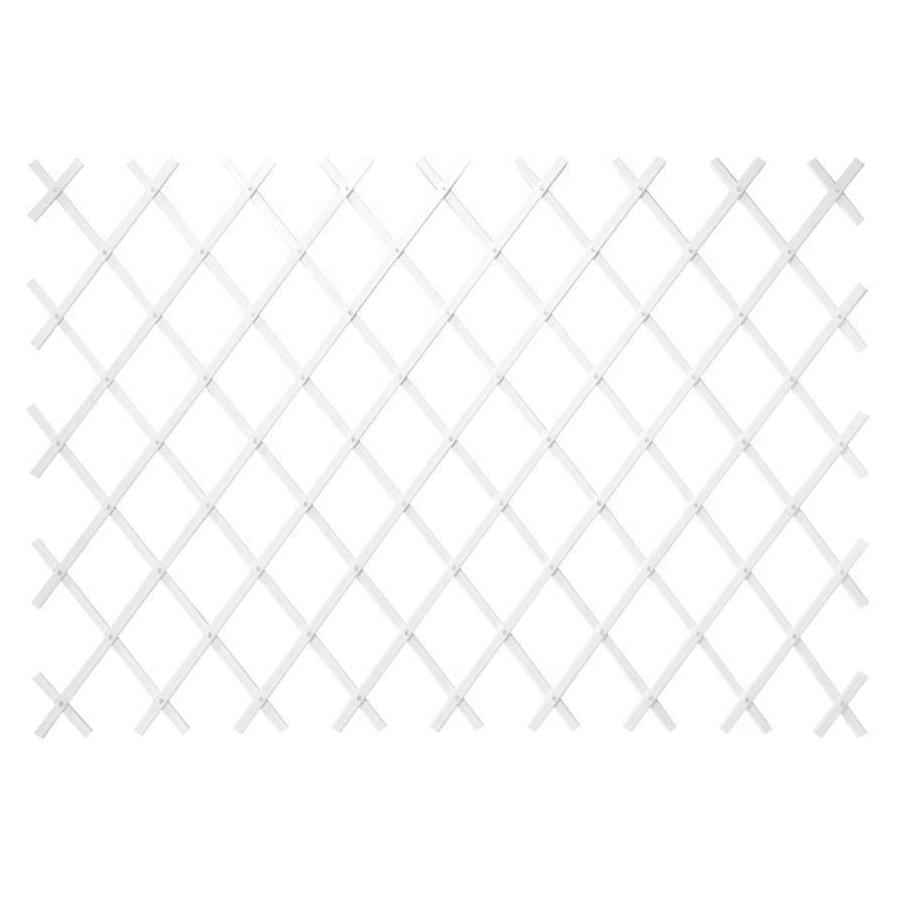 Решетка складная Verdemax белая 200х100 см