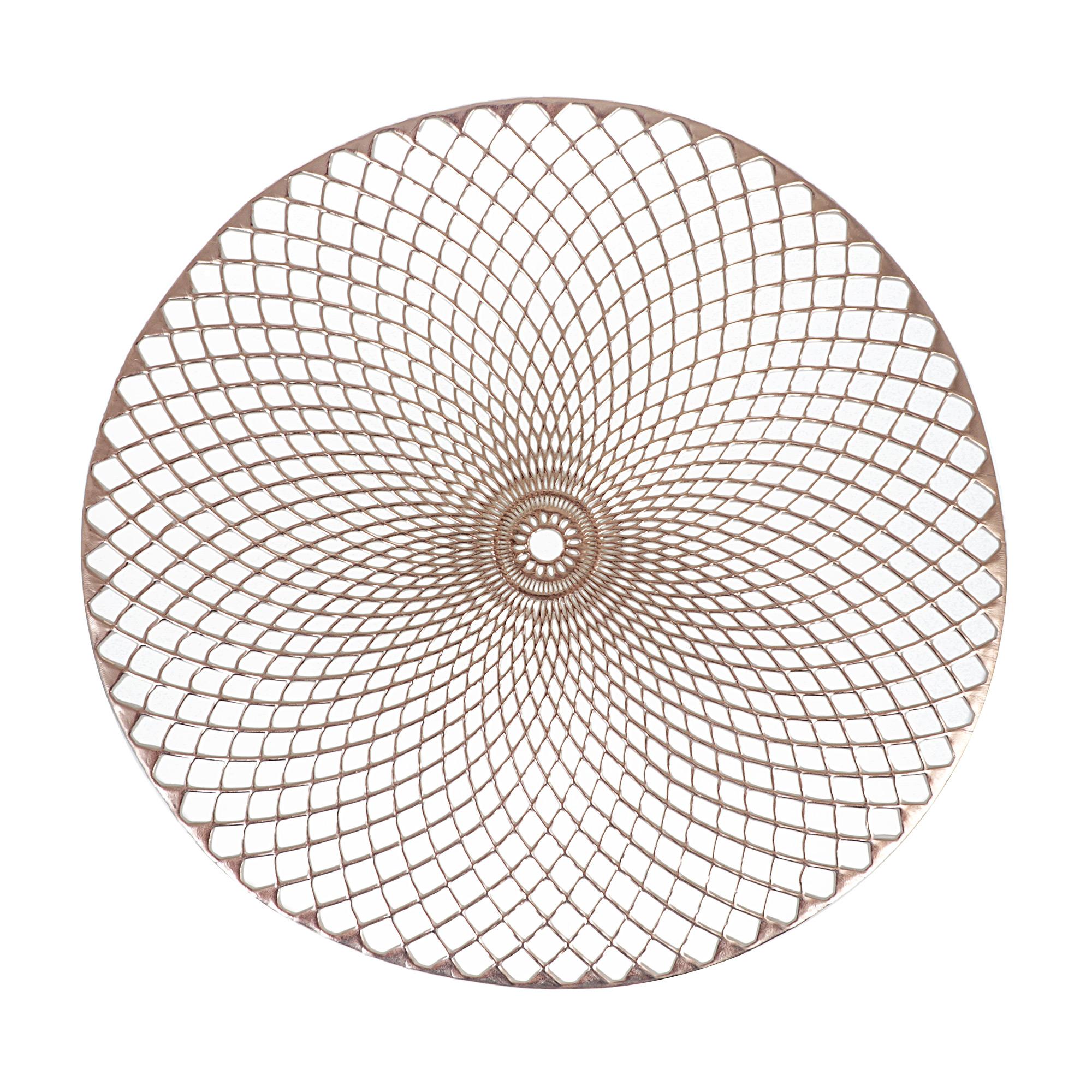 Фото - Подставка под горячее d-38см Золото Zeller подставка под горячее zeller 35 см серый