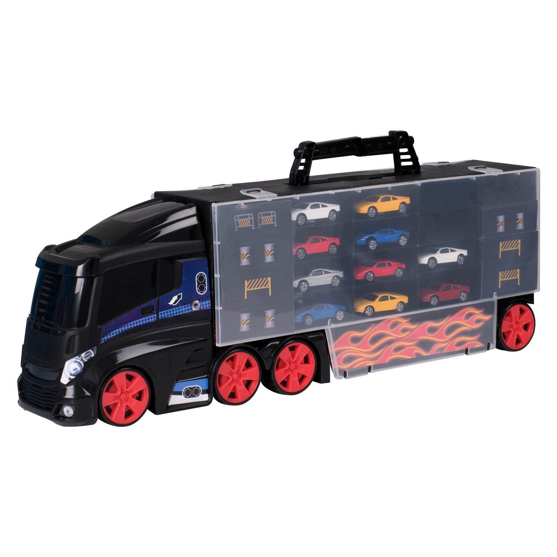Набор игровой HTI Автоперевозчик с 10 машинками