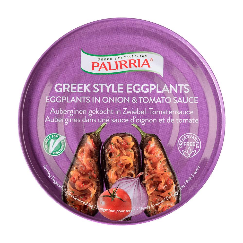 Баклажаны фаршированные PALIRRIA в томатном соусе 280 г баклажаны жареные noyan с черносливом в томатном соусе 560 г