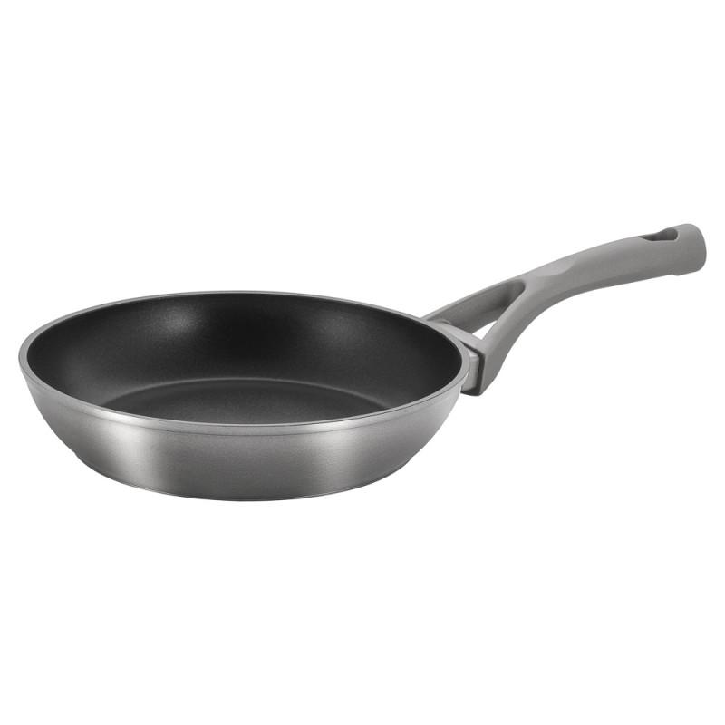 Купить Сковорода Guffman Venus Silver 22 см, Китай, серый, черный