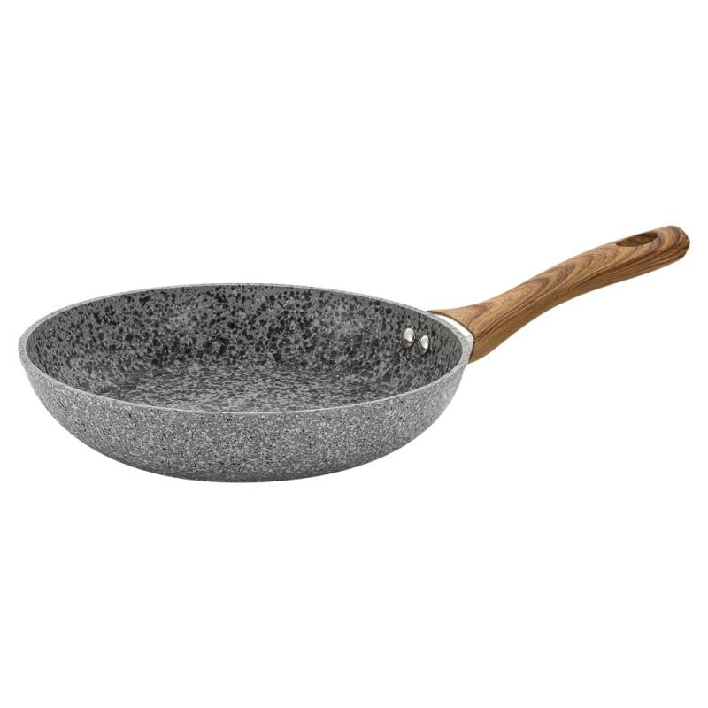 Купить Сковорода Guffman Grey Marble 24 см, Китай, серый