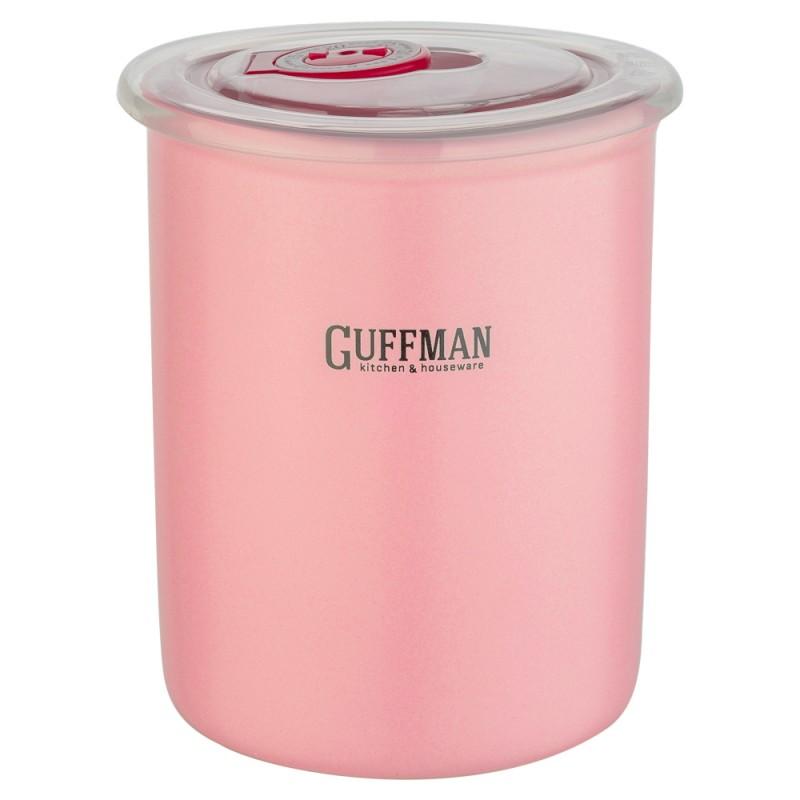 Купить Банка для сыпучих продуктов Guffman Ceramics 0, 6 л, Китай, розовый, высококачественная керамика