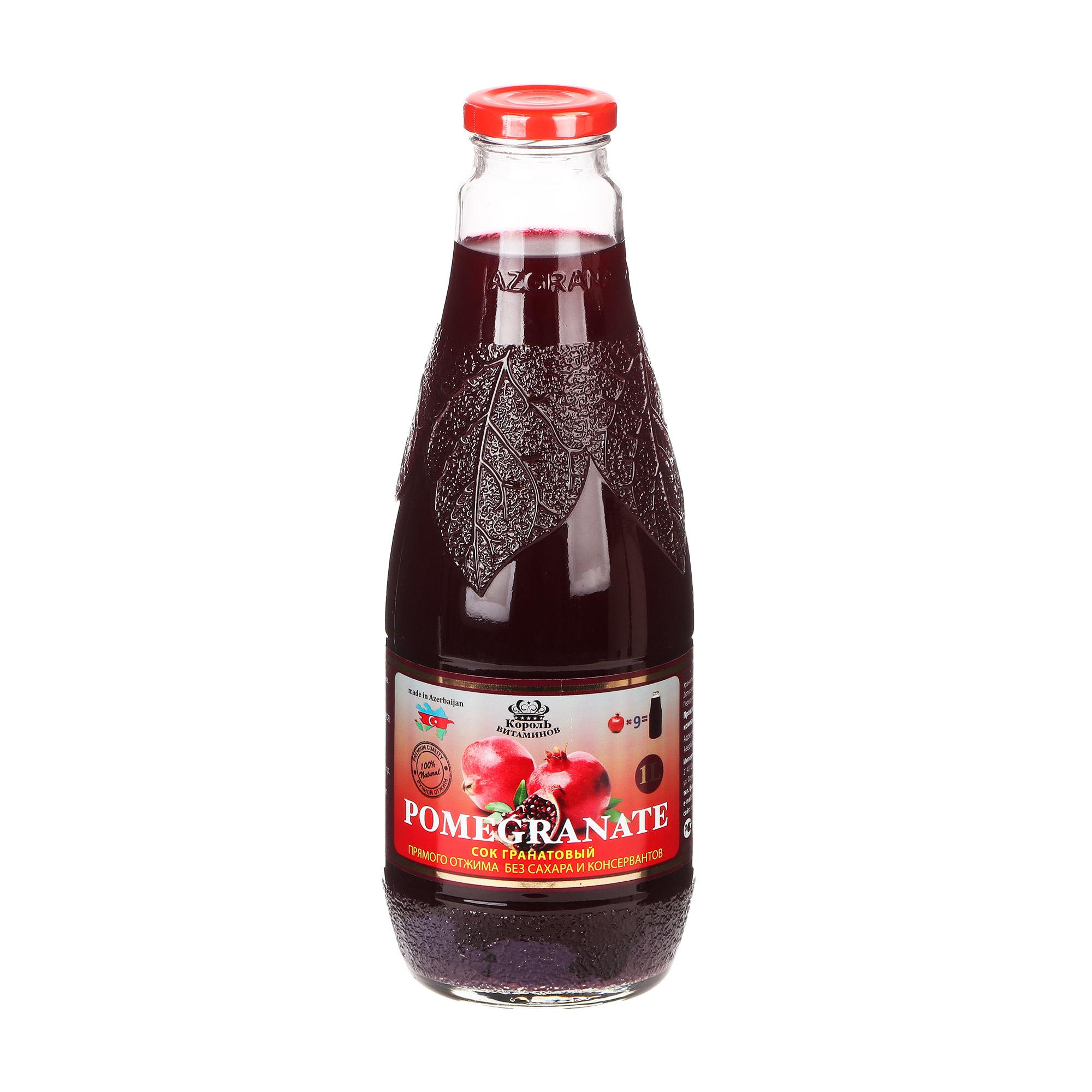 barinoff сок гранатовый 0 25 л Сок Король витаминов гранатовый 1 л