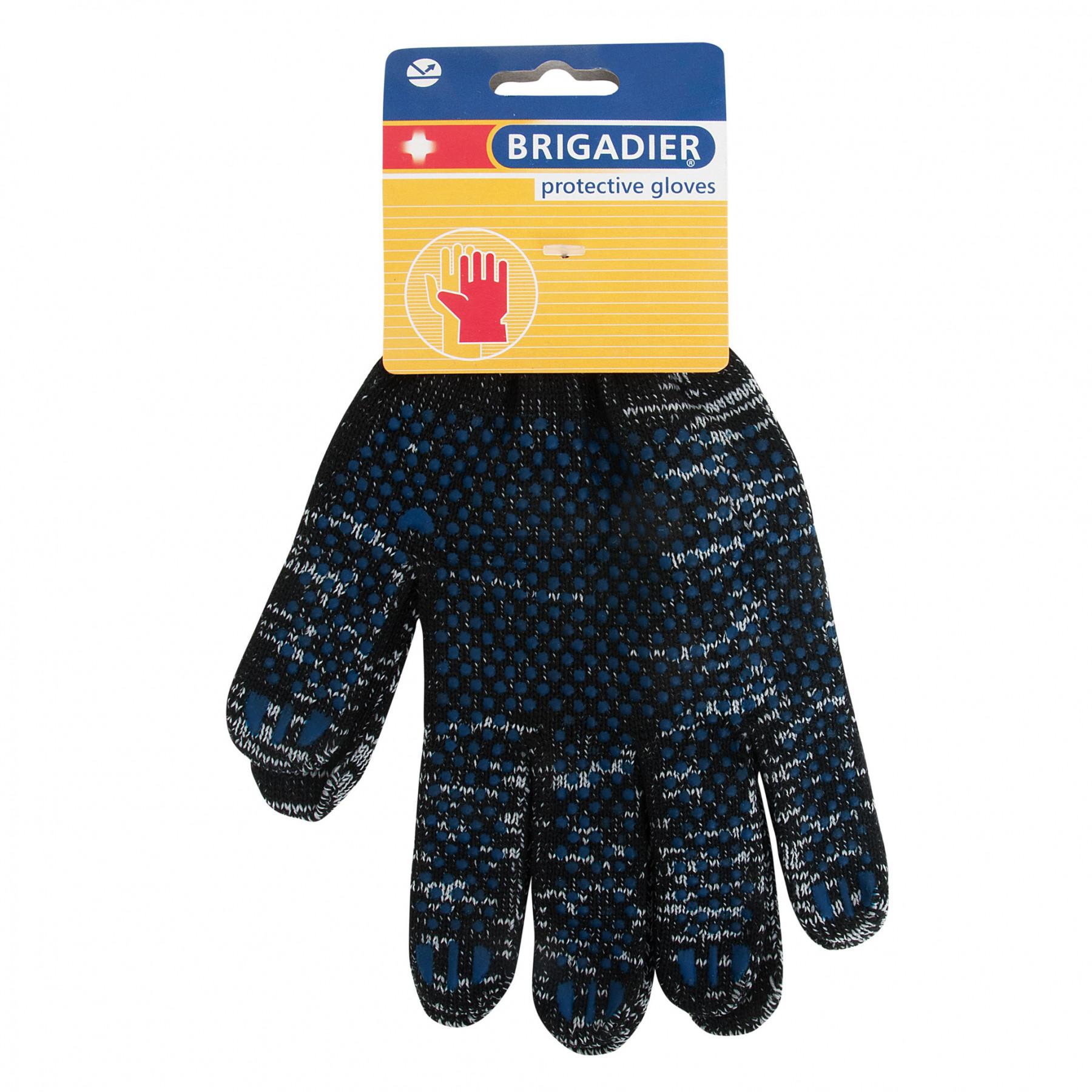 Перчатки Brigadier lite демисезон с пвх перчатки рабочие противоскользящие brigadier extrema