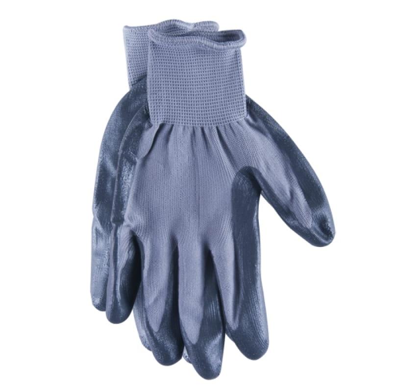 Перчатки нейлоновые нитрил Brigadier l extrema перчатки рабочие противоскользящие brigadier extrema
