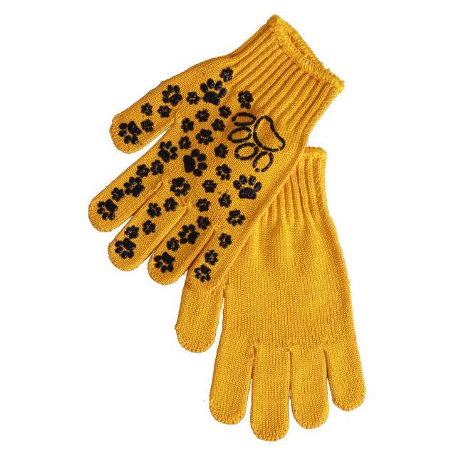 Перчатки Archimedes рис пвх, 6 размер, цвет желтый