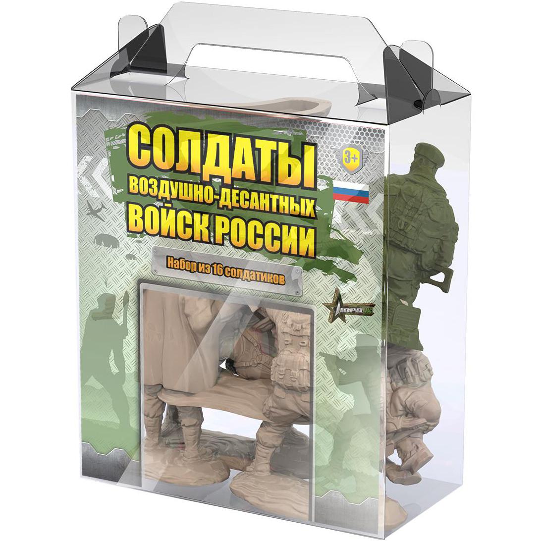 Игровой набор Нордпласт Солдатики 16 шт.