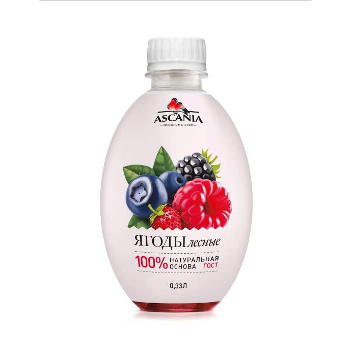 Напиток газированный Ascania Лесная Ягода 330 мл парфюмерная вода ascania anxious heart 40 мл