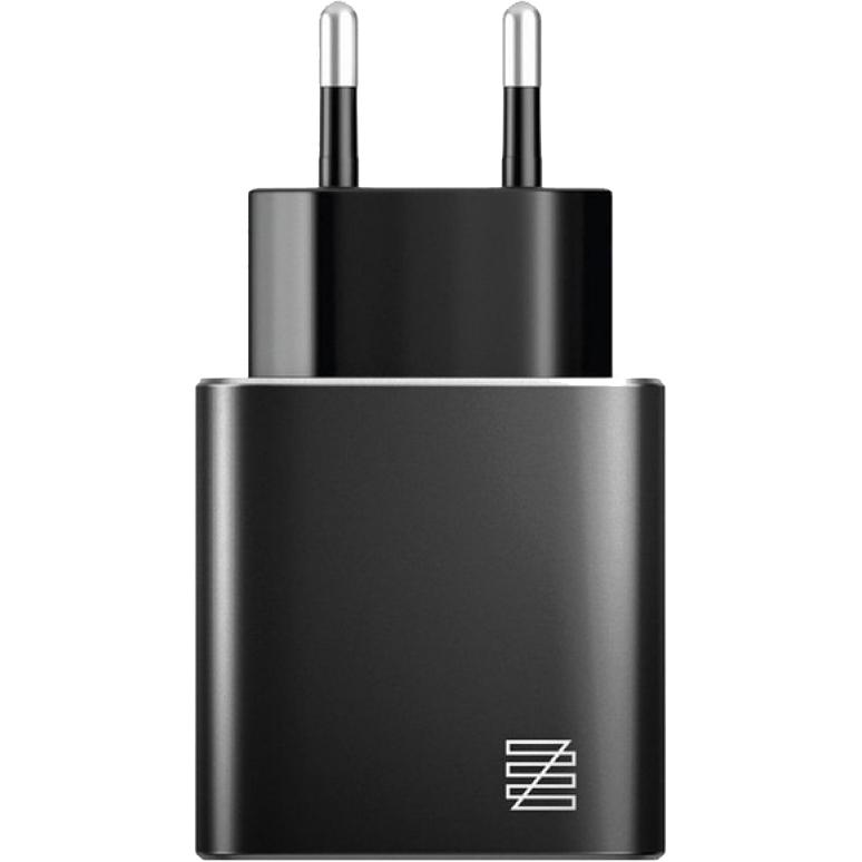 Сетевое зарядное устройство Lenzza Piazza MFi LPAWCMFI Black