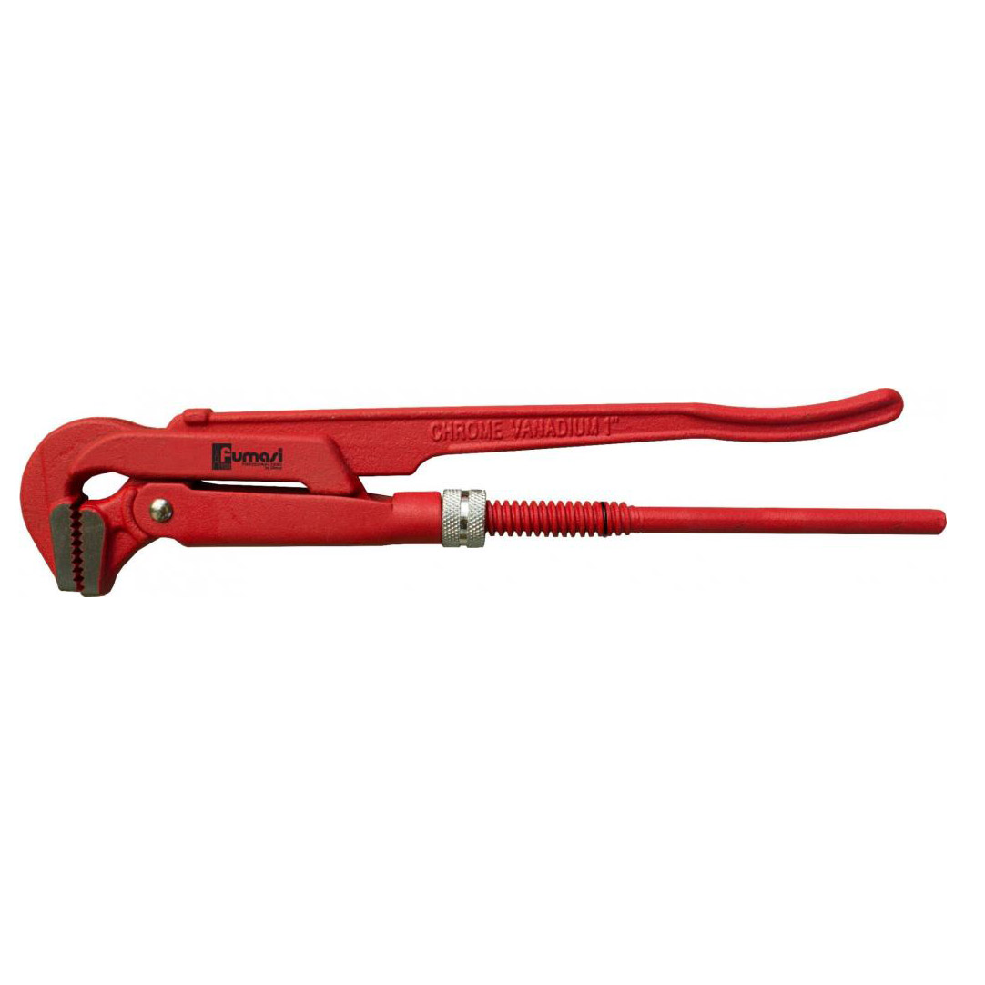 Фото - Ключ трубный рычажный Fumasi 500001 320мм 1 дюйм ключ трубный рычажный ridgid 1141