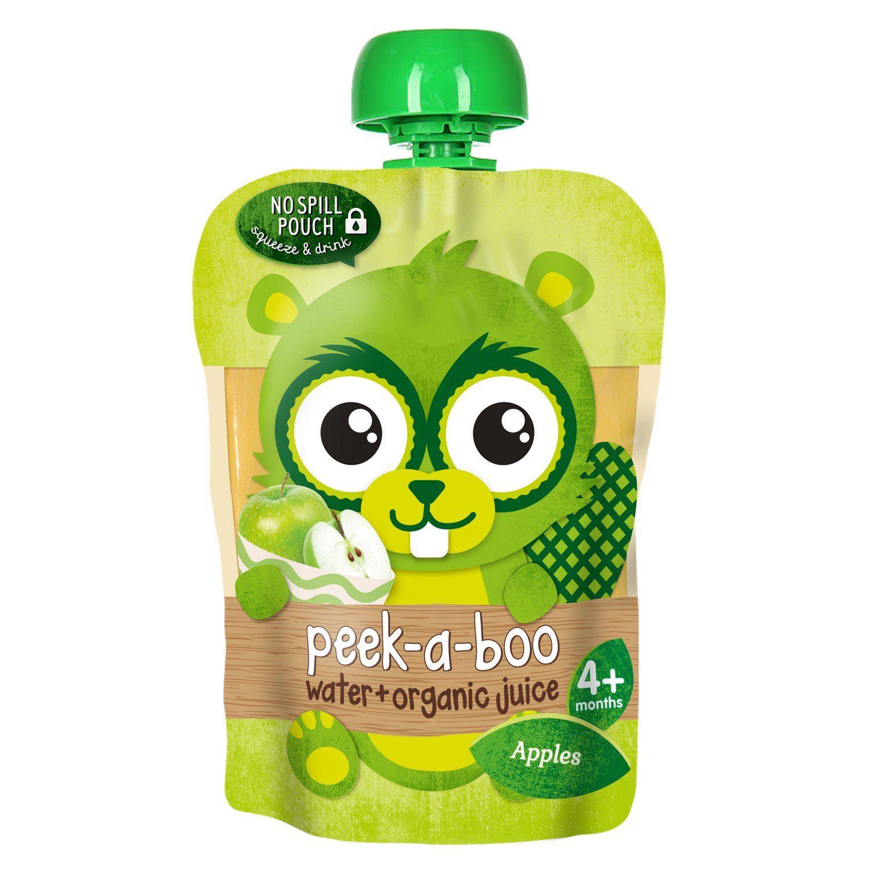 Сок Peek-a-boo яблоко прямого отжима с водой с 4-ех месяцев 150 мл rita herron peek a boo protector