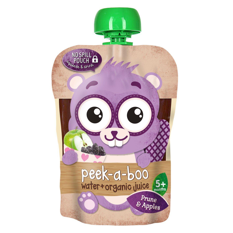 Сок Peek-a-boo яблоко прямого отжима и чернослив с водой с 5-ти месяцев 150 мл rita herron peek a boo protector