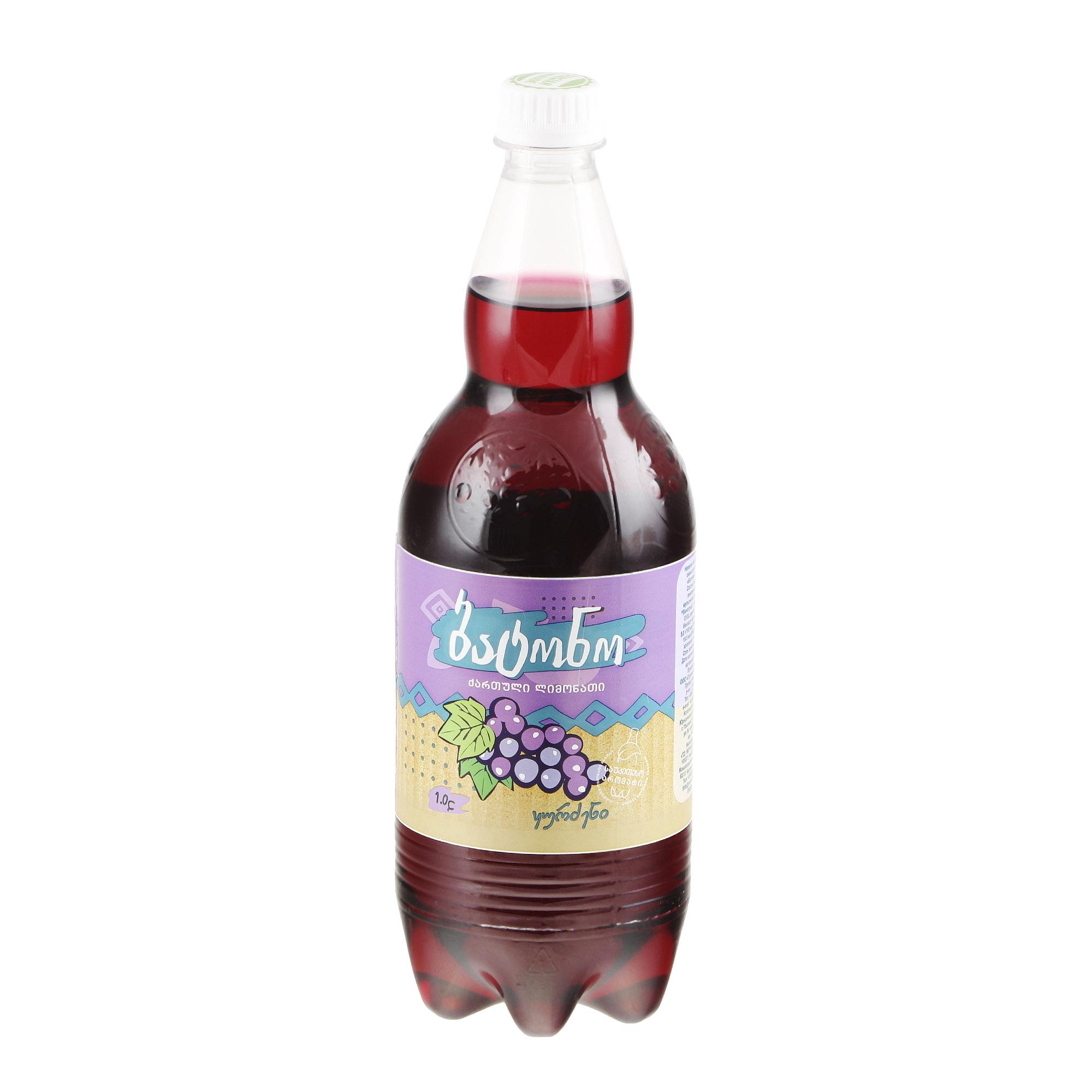 Напиток газированный Batono Виноград 1 л напиток газированный laimon fresh 1 5 л
