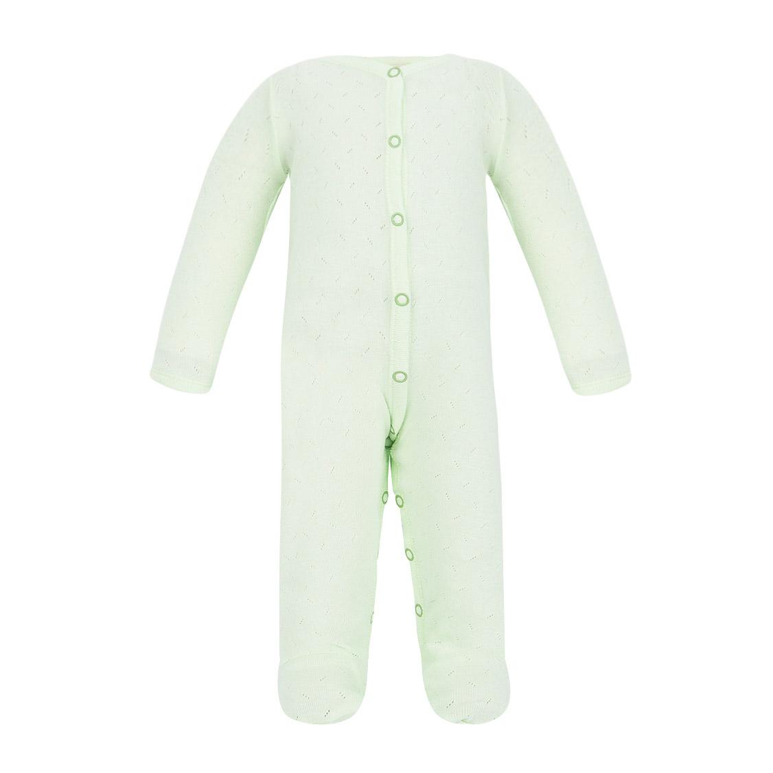 Фото - Комбинезон Ажур зеленый 74-80 футболка lucky child ажур белая 74 80