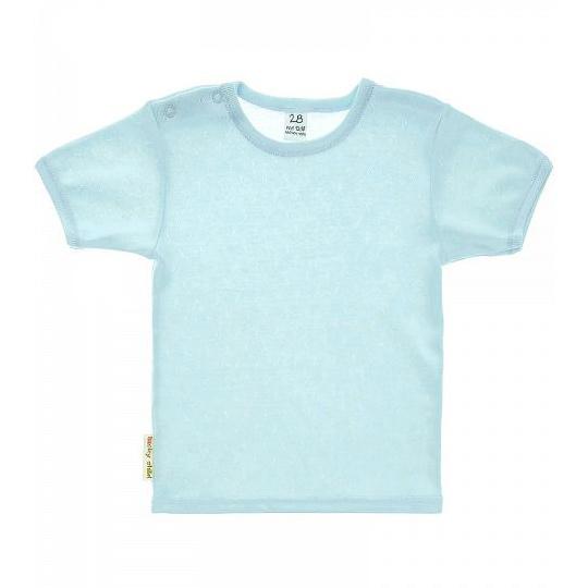 Фото - Футболка Lucky Child Ажур голубая 74-80 футболка lucky child ажур белая 74 80
