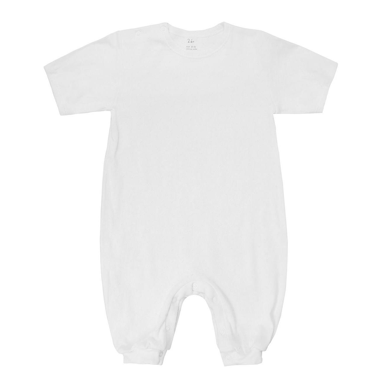 Фото - Песочник Lucky Child Ажур белый 74-80 футболка lucky child ажур белая 74 80