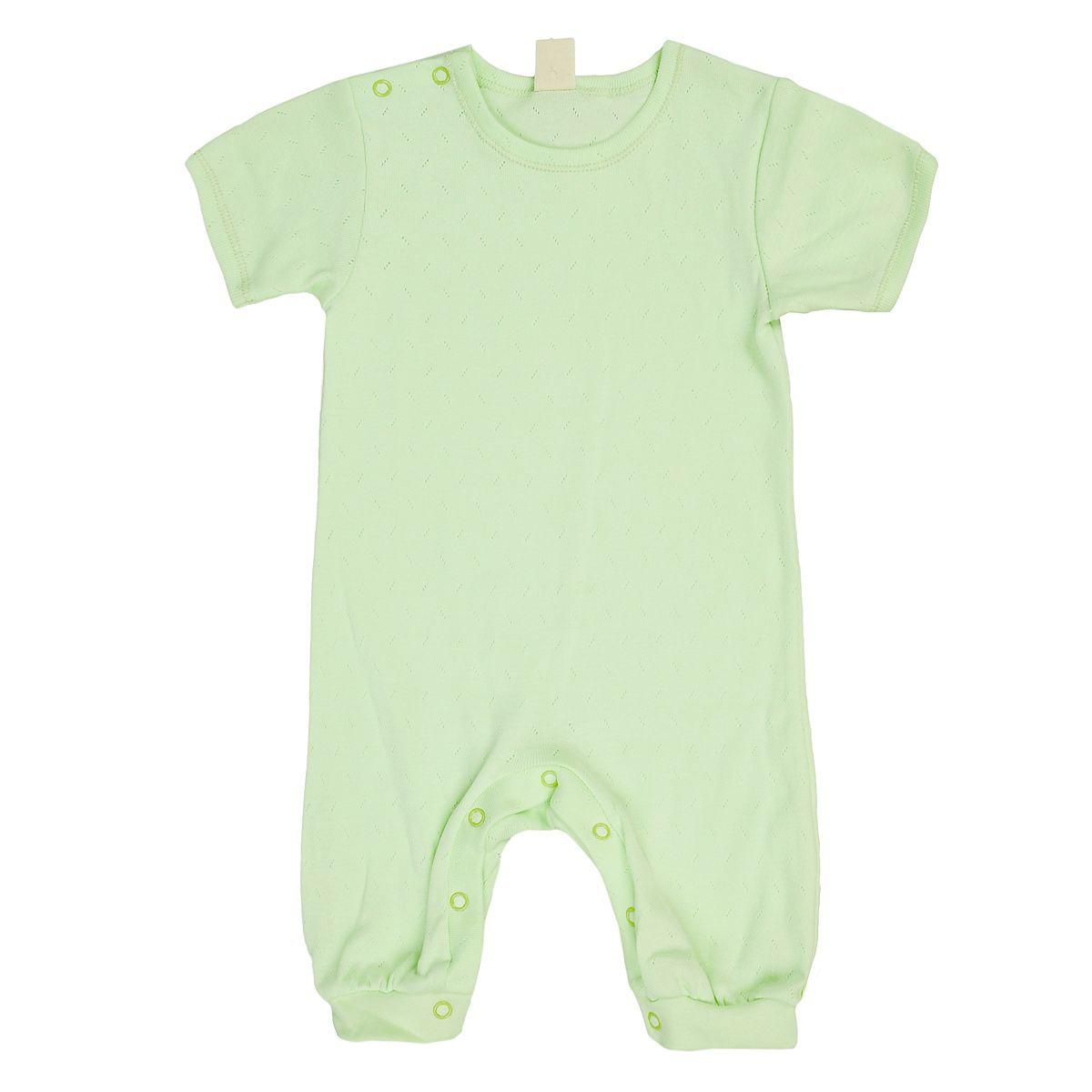 Фото - Песочник Lucky Child Ажур зеленый 74-80 футболка lucky child ажур белая 74 80