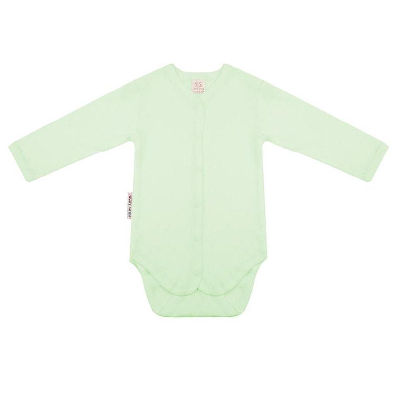 Фото - Боди Lucky Child Ажур зеленый 74-80 футболка lucky child ажур белая 74 80
