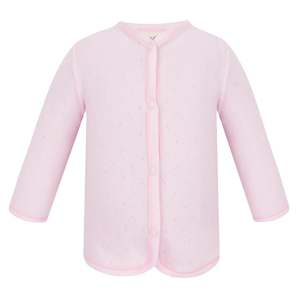 Фото - Кофта Lucky Child Ажур розовая 74-80 футболка lucky child ажур белая 74 80
