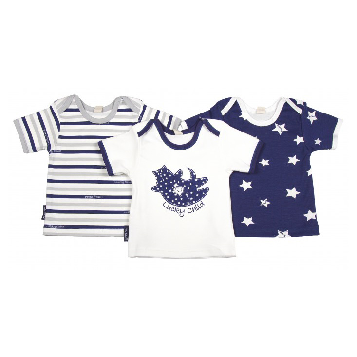 Комплект футболок Lucky Child Котики 3 шт 80-86