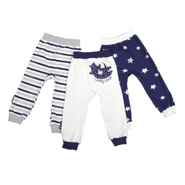 Фото - Комплект брюк Lucky Child Котики 3 шт 80-86 комплект брюк lucky child котики 3 шт 74 80