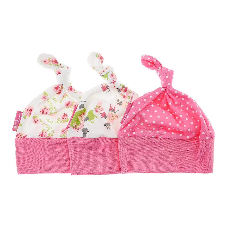 Комплект шапочек Маленькая садовница 3 шт 38