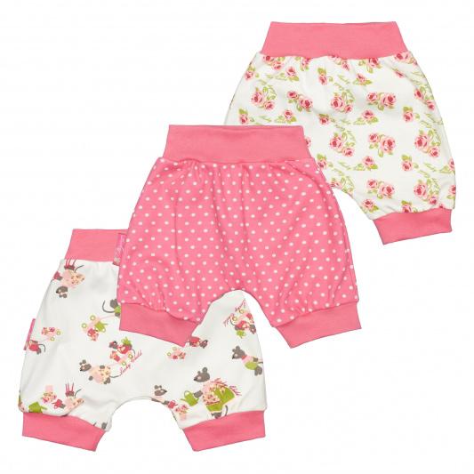 Комплект шортов Lucky Child Маленькая садовница 3 шт 62-68