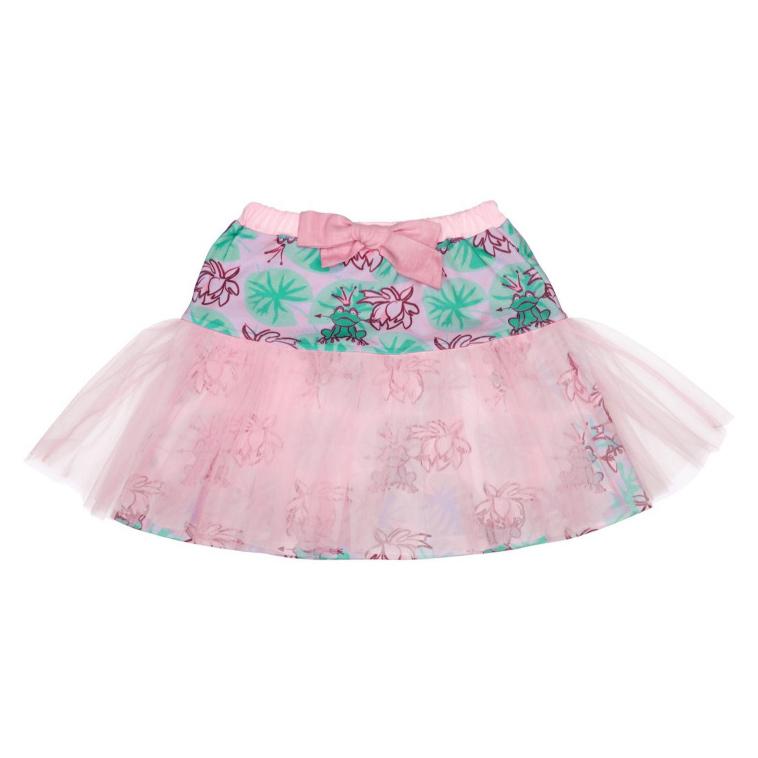 Купить Юбка Lucky Child Принцесса Сказки цветная 86-92, Разноцветный, Кулирка с лайкрой, Для девочек, Весна-Лето,