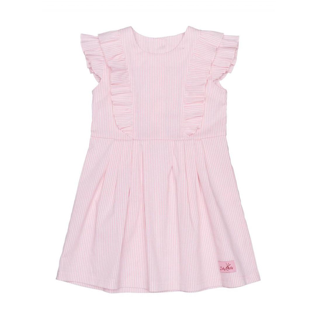 Платье Lucky Child Принцесса сказки в полоску 110-116 фото