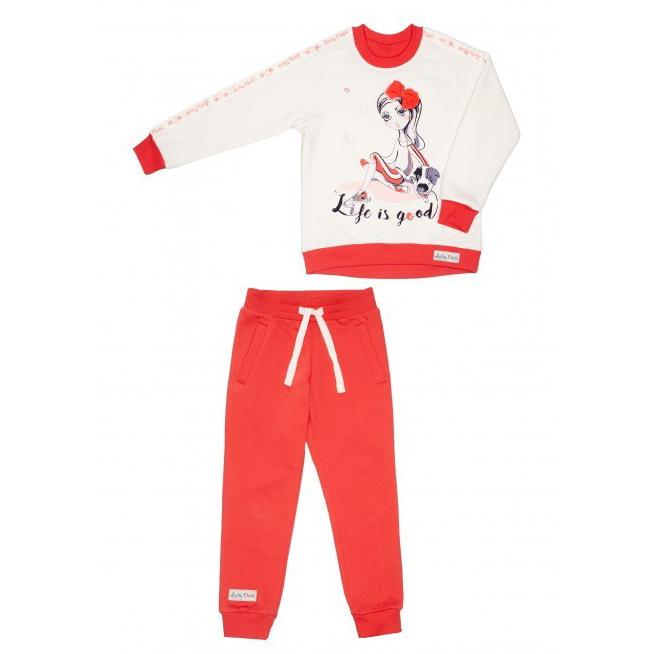 Фото - Спортивный костюм Lucky Child Sport: толстовка и брюки 80-86 спортивный костюм lucky child sport куртка и брюки 86 92