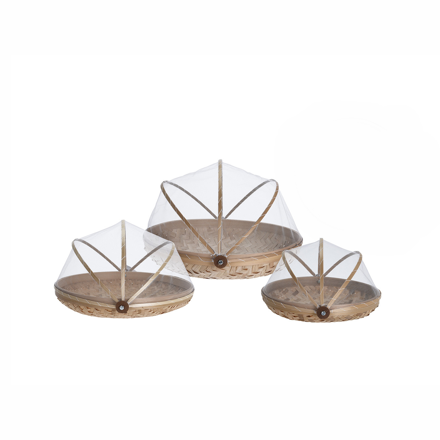 Набор корзинок Koopman tableware бамбук 3 шт набор форм для выпечки koopman tableware 3 шт