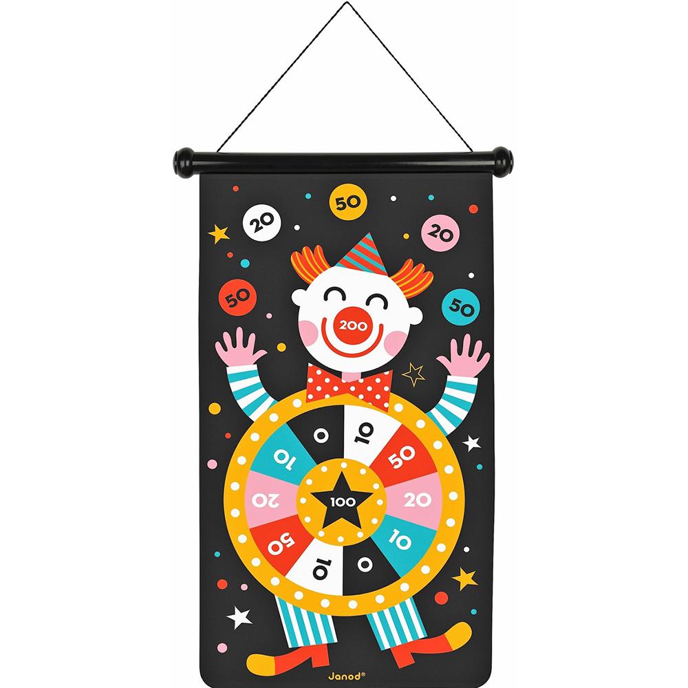 Игровой набор Janod Дартс Цирк фото