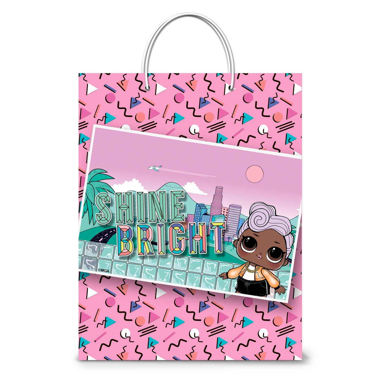 Фото - Пакет подарочный малый ND Play Lol розовый с картинкой пакет подарочный nd play lol 25 х 35 х 10 см мятный розовый
