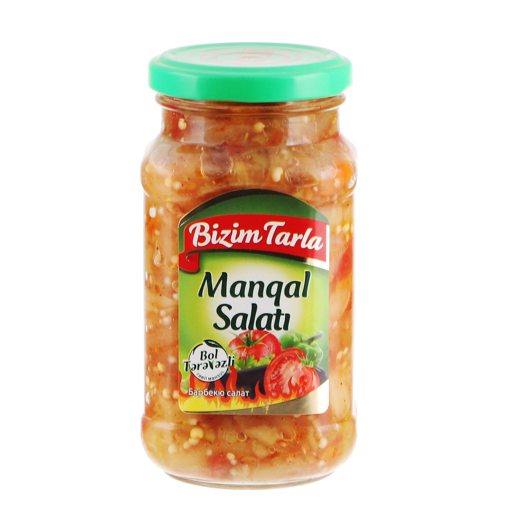 Салат барбекю Bizim Tarla 300 г соленья из красных томатов bizim tarla 2 кг