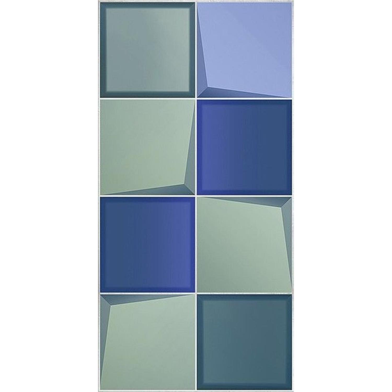 бордюр azori boho verde geometry 7 5x63 Плитка Azori Marbella Verde 31,5х63 см