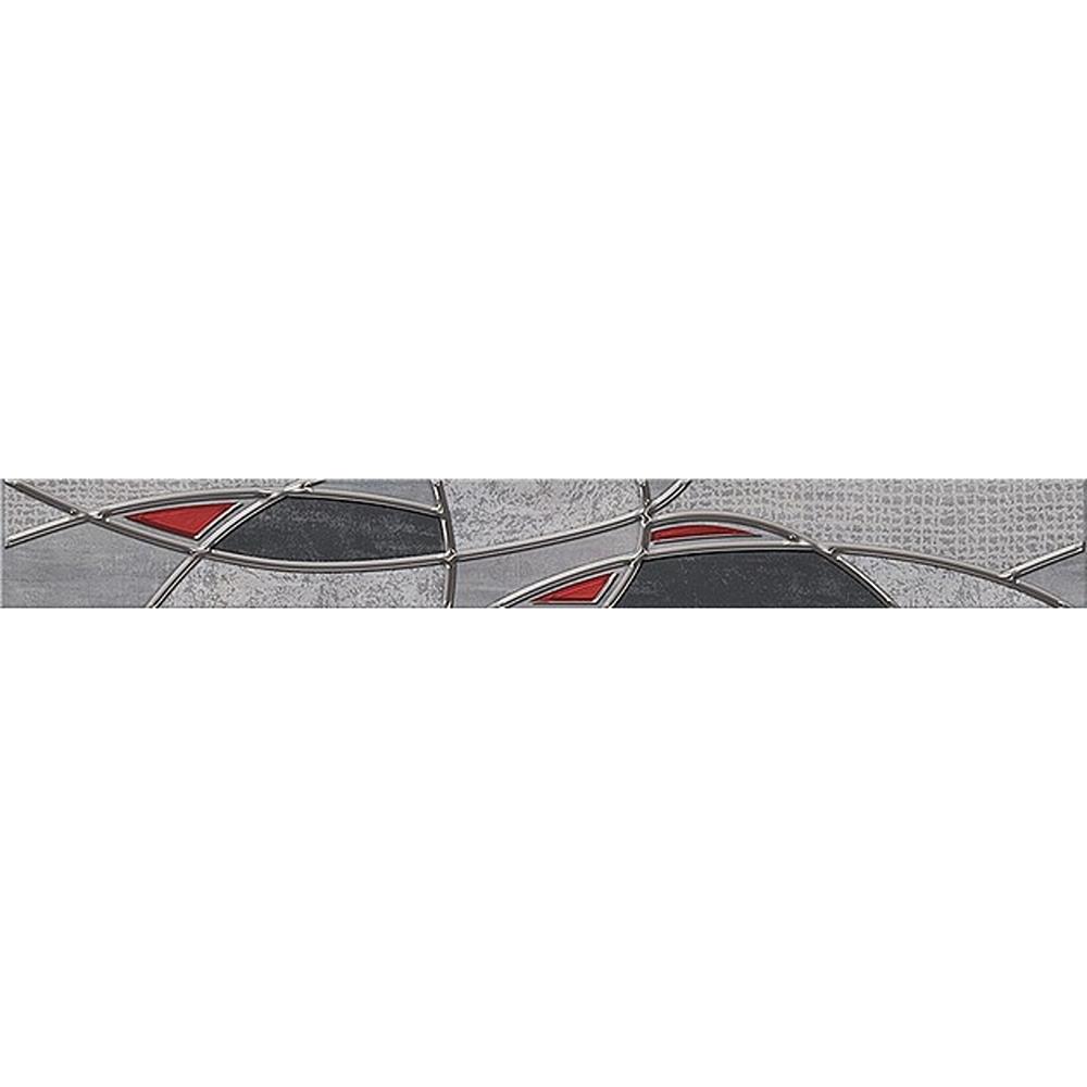 Бордюр Azori Pandora Grey Charm 7,5х63 см
