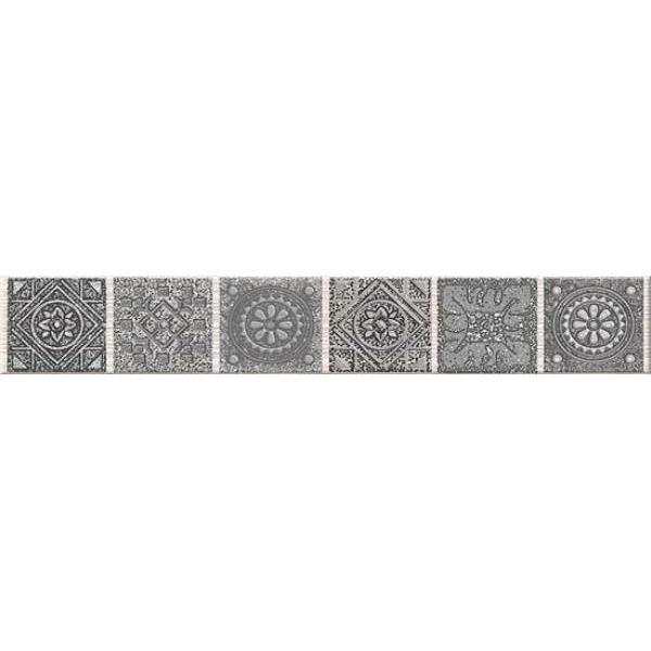 Бордюр Azori Grazia Mocca Nefertiti 6,2Х40,5 см бордюр azori arte
