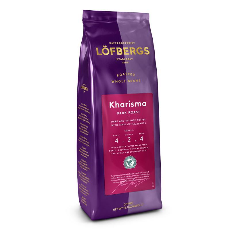 Кофе в зернах Lofbergs Kharisma 400 г фото