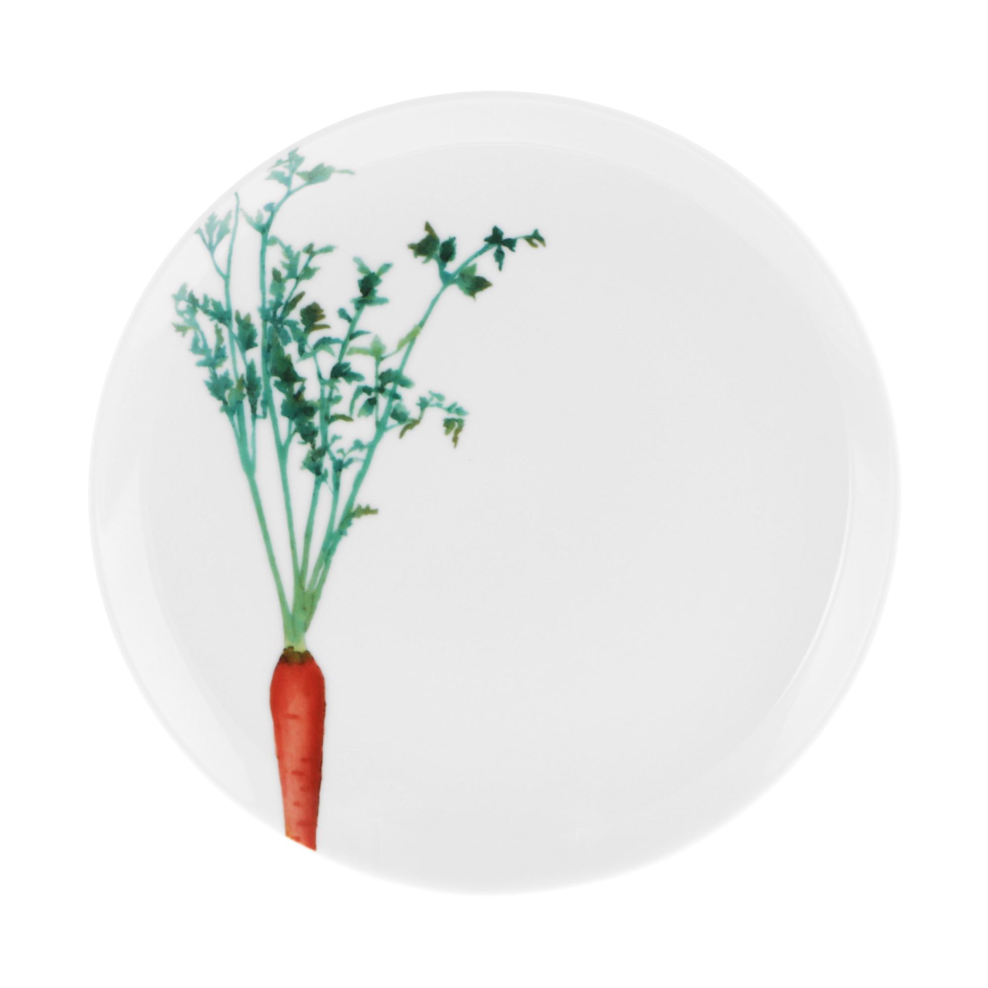 Тарелка закусочная Noritake Морковка 24 см тарелка закусочная noritake брум стрит 22см