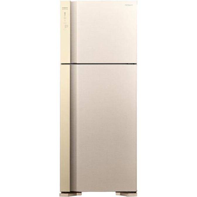 Холодильник Hitachi R-V 542 PU7 BEG двухкамерный холодильник hitachi r v 662 pu7 bsl серебристый бриллиант