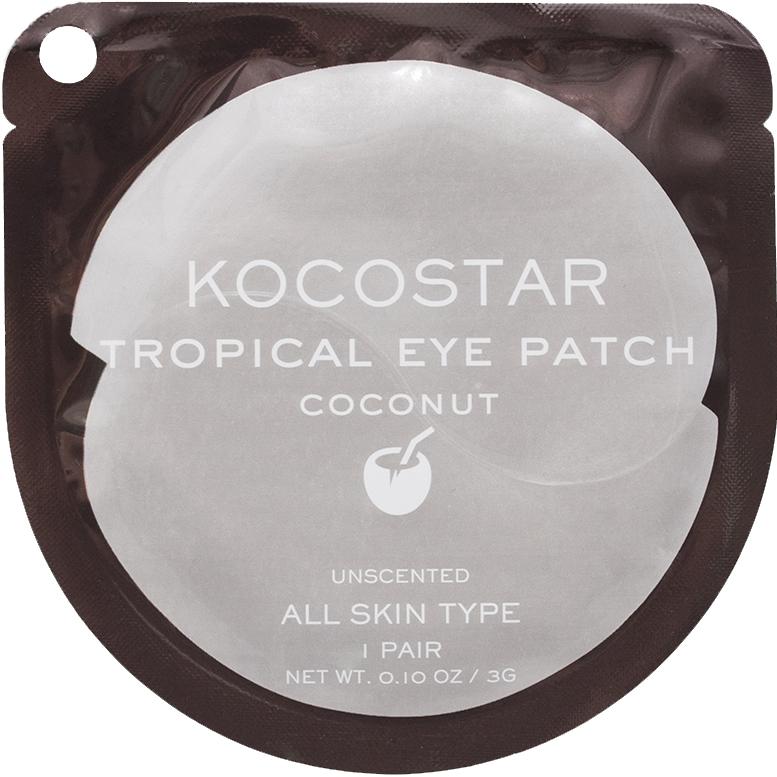 Патчи для глаз KOCOSTAR Tropical Eye Patch Кокос 1 пара недорого