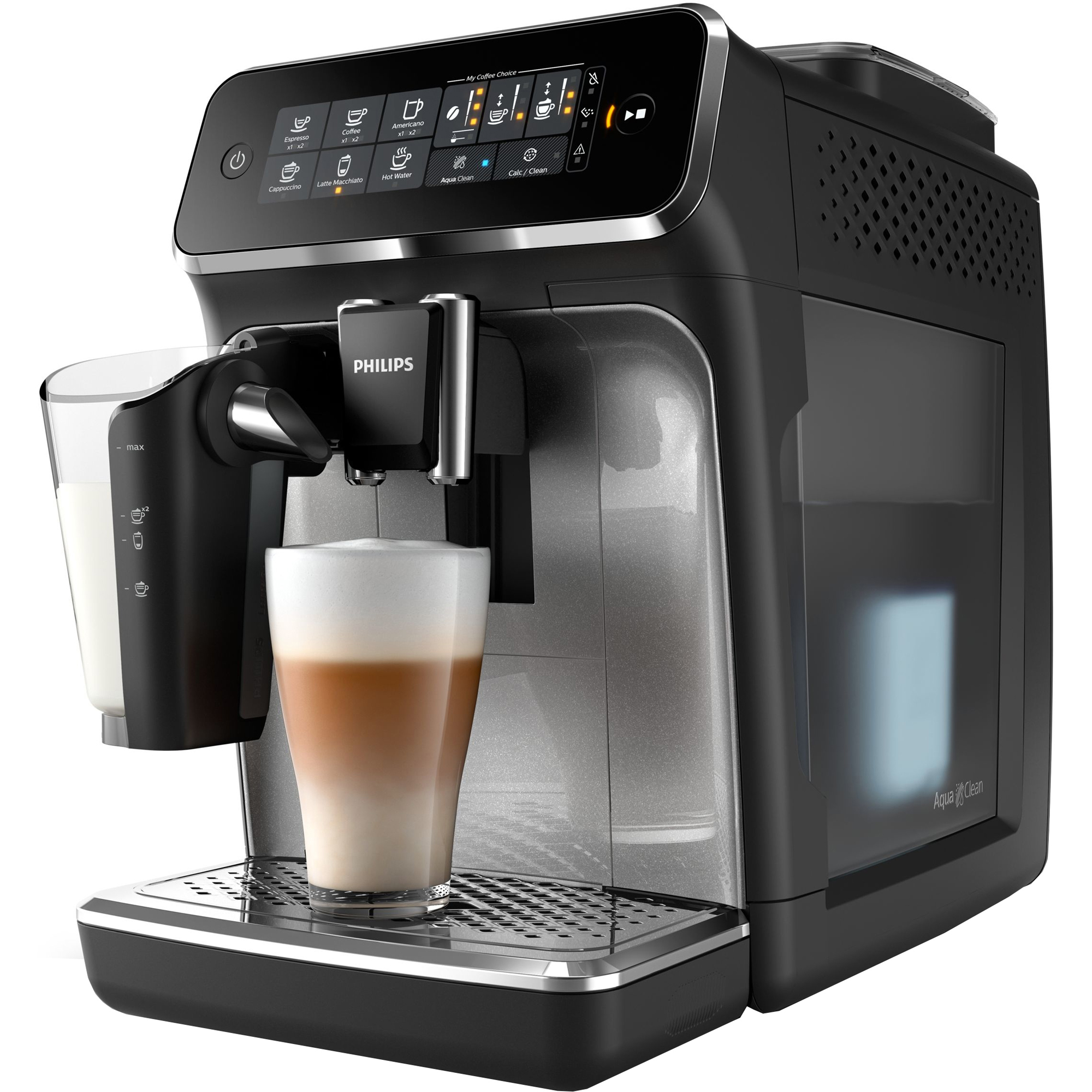 Кофемашина Philips LatteGo EP3246/70 кофемашина автоматическая philips ep 5030 10 series 5000 lattego