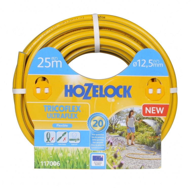 Фото - Шланг Hozelock ultraflex 1/2 25м шланг hozelock 143178 jardin 1 2 20m