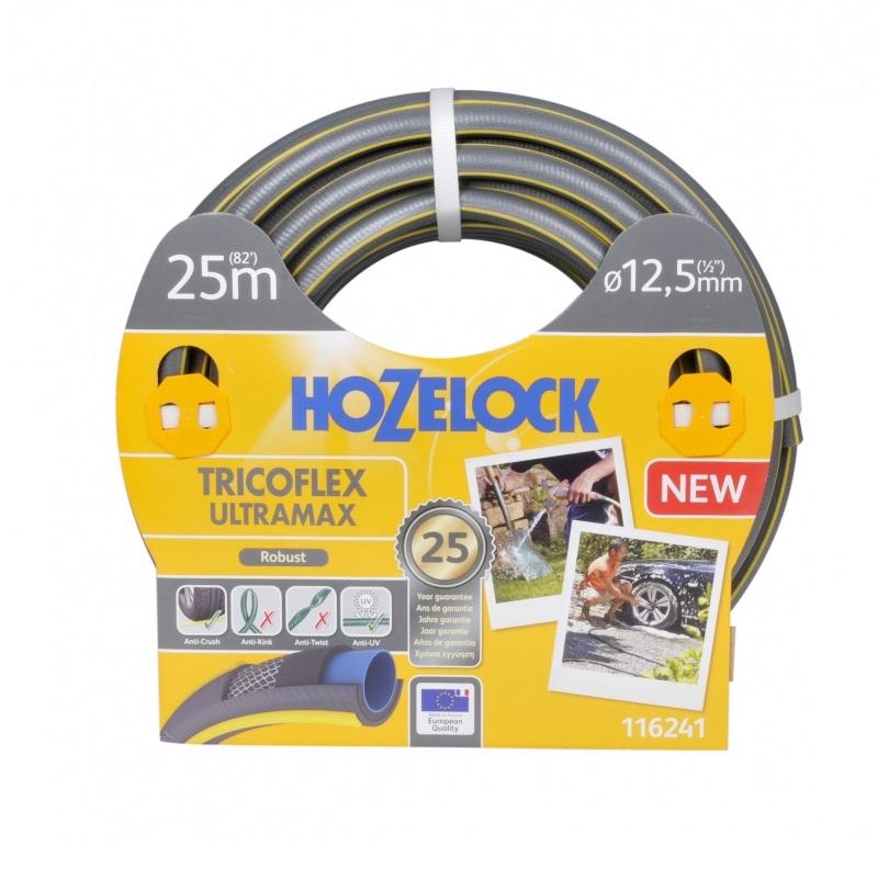 Шланг Hozelock ultramax 1/2 25м шланг hozelock 116242 tricoflex ultramax 1 2 25m