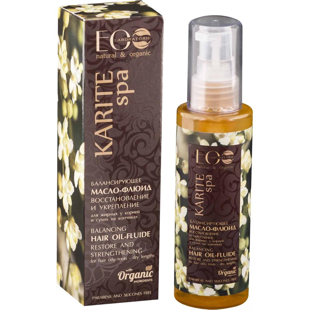 Масло-флюид EO Laboratorie Karite Spa Для восстановления сухих кончиков волос 100 мл маска для волос eo laboratorie eo laboratorie eo001lwlzf34