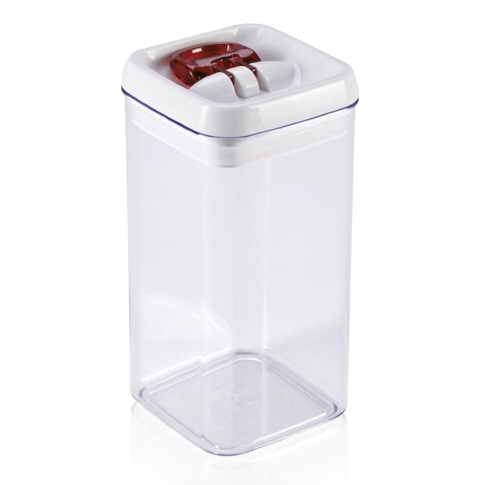 Контейнер для хранения, 1,2л, квадратный Leifheit Fresh&Easy