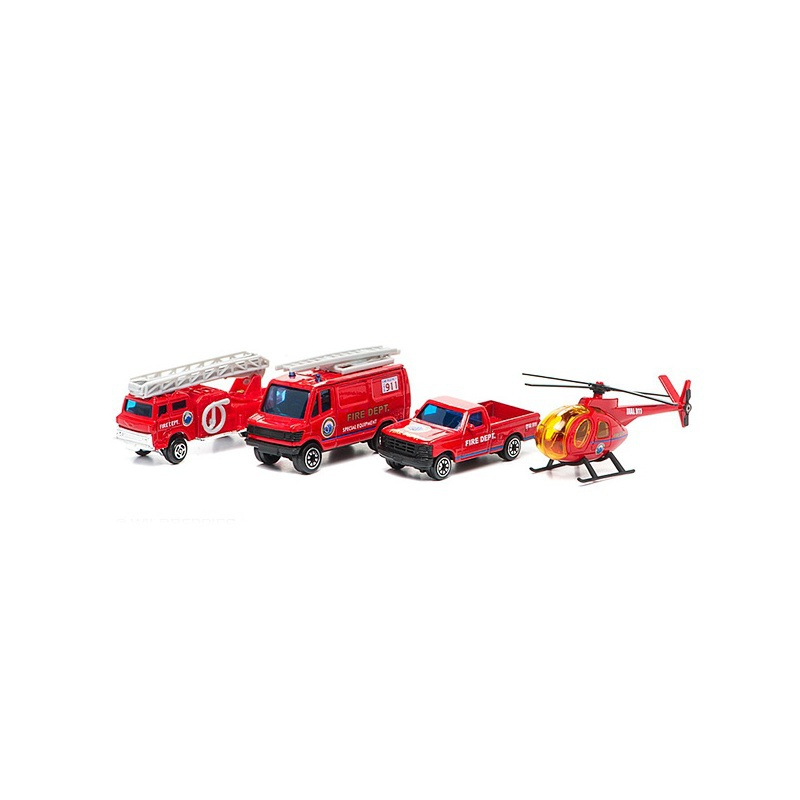 Игровой набор Welly Пожарная команда 97506B-1.