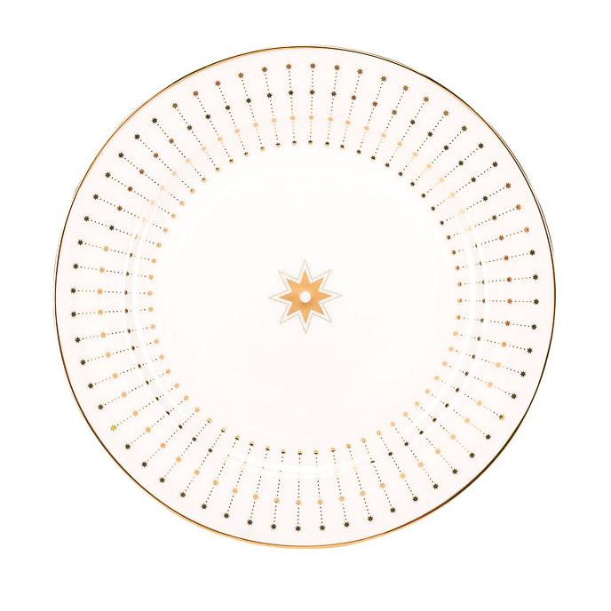 Фото - Тарелка плоская ИФЗ Азур Золото 20 см fissman тарелка плоская 28 см